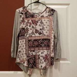 Maurices Tunic Top Small EUC